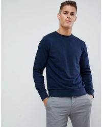 Sweat-shirt bleu marine Jack & Jones