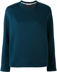 Sweat-shirt bleu marine Marni