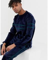 Sweat-shirt bleu marine NATIVE YOUTH