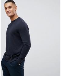 Sweat-shirt bleu marine New Look