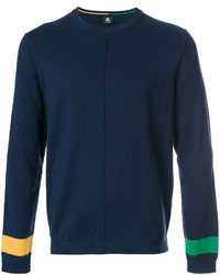 Sweat-shirt bleu marine Paul Smith
