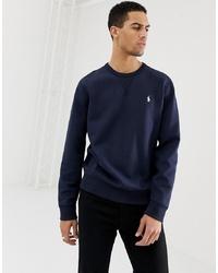 Sweat-shirt bleu marine Polo Ralph Lauren