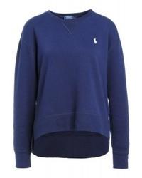 Sweat-shirt bleu marine Ralph Lauren