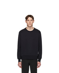 Sweat-shirt bleu marine Thom Browne