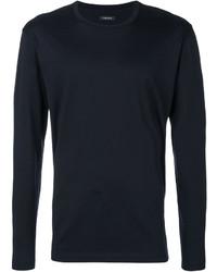 Sweat-shirt bleu marine Z Zegna