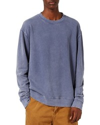Sweat-shirt bleu