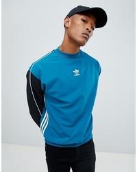 Sweat-shirt bleu adidas Originals