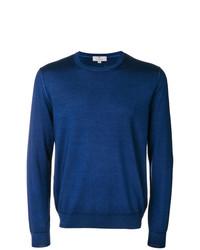 Sweat-shirt bleu Canali
