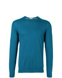 Sweat-shirt bleu Paolo Pecora