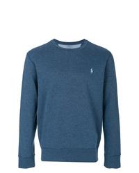 Sweat-shirt bleu Polo Ralph Lauren