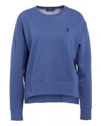 Sweat-shirt bleu Ralph Lauren
