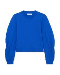 Sweat-shirt bleu Tibi