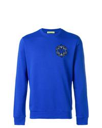 Sweat-shirt bleu Versace Jeans