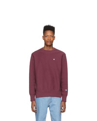 Sweat-shirt bordeaux Champion Reverse Weave