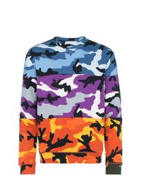 Sweat-shirt camouflage multicolore Valentino