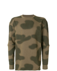 Sweat-shirt camouflage olive Maharishi