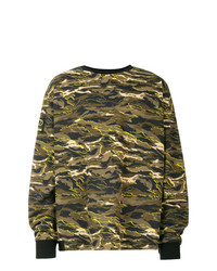 Sweat-shirt camouflage olive Puma