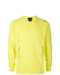 Sweat-shirt chartreuse Stone Island Shadow Project