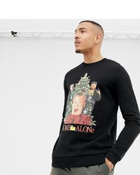 Sweat-shirt de noël noir ASOS DESIGN