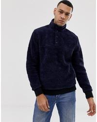 Sweat-shirt en polaire bleu marine J.Crew Mercantile