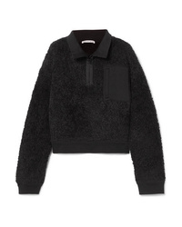 Sweat-shirt en polaire noir