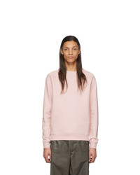 Sweat-shirt en polaire rose Random Identities