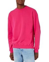 Sweat-shirt fuchsia