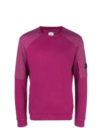 Sweat-shirt fuchsia CP Company