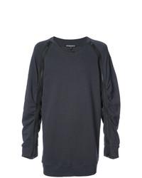 Sweat-shirt gris foncé Ann Demeulemeester