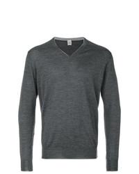 Sweat-shirt gris foncé Eleventy