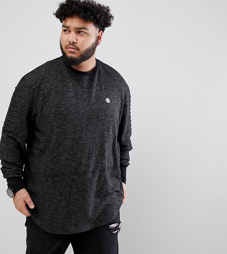 Sweat-shirt gris foncé Le Breve