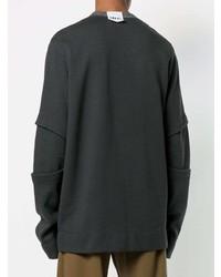 Sweat-shirt gris foncé Lost & Found Rooms