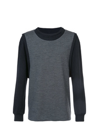 Sweat-shirt gris foncé Private Stock