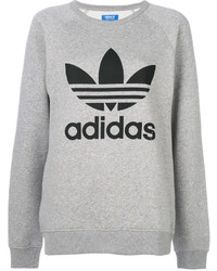 Sweat-shirt gris adidas