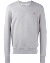 Sweat-shirt gris AMI Alexandre Mattiussi