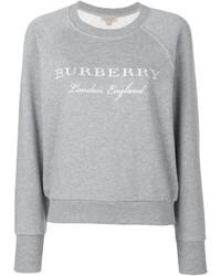 Sweat-shirt gris Burberry