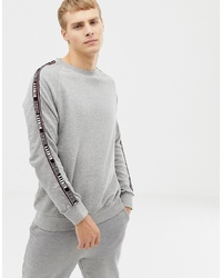 Sweat-shirt gris Burton Menswear