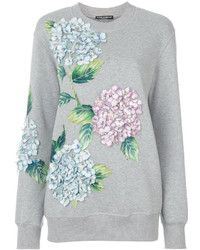 Sweat-shirt gris Dolce & Gabbana