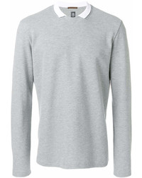 Sweat-shirt gris Eleventy
