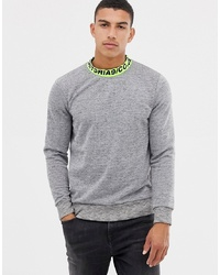 Sweat-shirt gris Jack & Jones