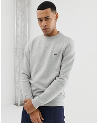 Sweat-shirt gris Lacoste