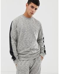 Sweat-shirt gris Le Breve