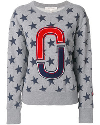 Sweat-shirt gris Marc Jacobs