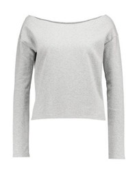 Sweat-shirt gris Missguided