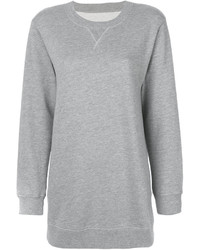 Sweat-shirt gris MM6 MAISON MARGIELA