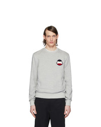 Sweat-shirt gris Moncler