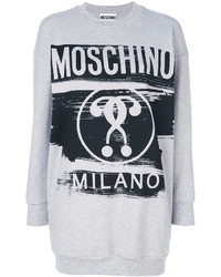 Sweat-shirt gris Moschino