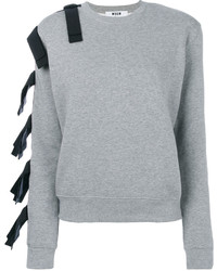 Sweat-shirt gris MSGM