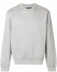 Sweat-shirt gris Prada