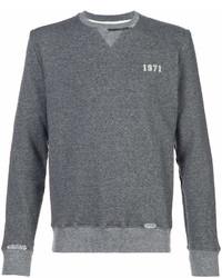 Sweat-shirt gris Saint Laurent